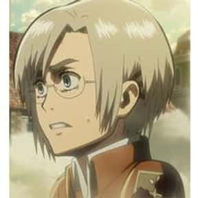 Rico Brzenska is listed (or ranked) 25 on the list The Best Attack on Titan Characters