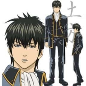 Toshiro Hijikata is listed (or ranked) 20 on the list The Greatest Anime Characters That Smoke