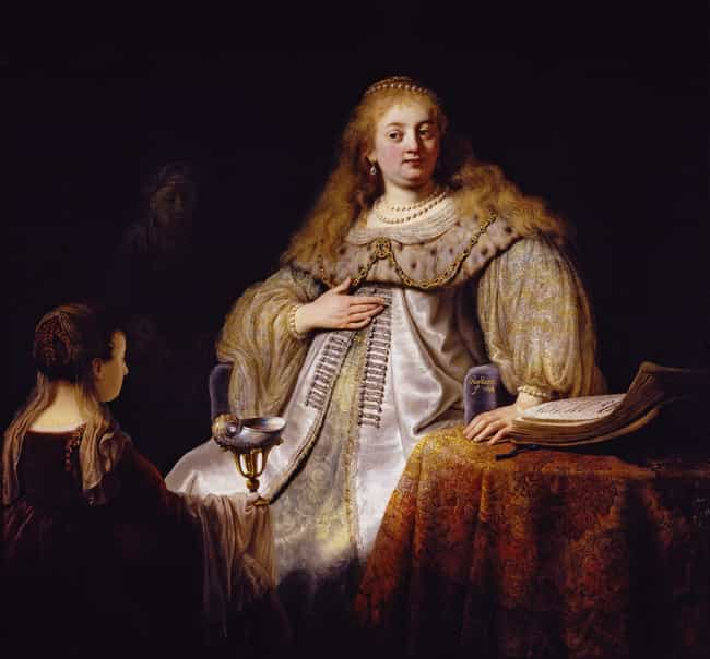 Artemisia is listed (or ranked) 6 on the list Famous Rembrandt Paintings
