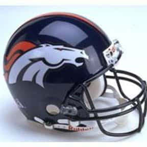 Broncos is listed (or ranked) 12 on the list The Best Current NFL Helmets