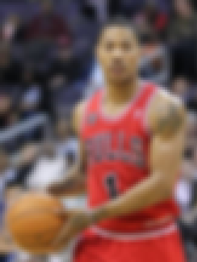 Derrick Rose is listed (or ranked) 4 on the list The Top 10 NBA Players Right Now