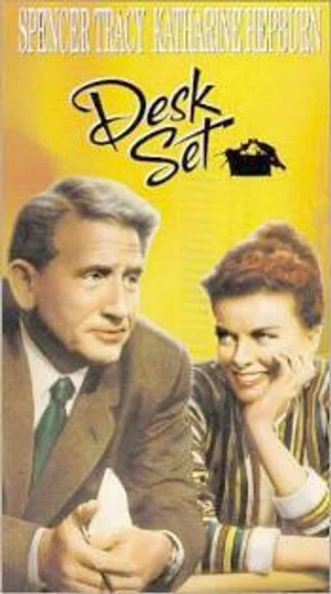Desk Set is listed (or ranked) 4 on the list The Best '50s Christmas Movies