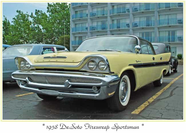 DeSoto Firesweep is listed (or ranked) 2 on the list Full List of DeSoto Models