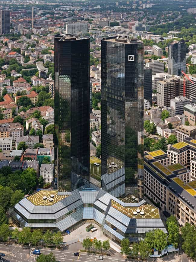 Deutsche Bank Twin Towers is listed (or ranked) 3 on the list List of Famous Frankfurt Buildings & Structures