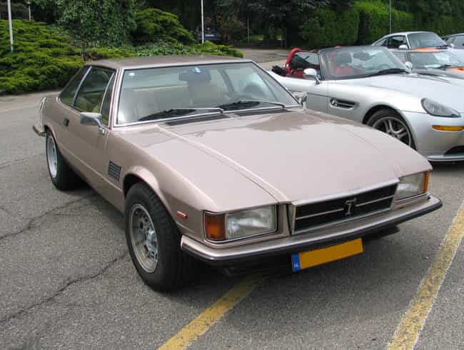 De Tomaso Longchamp is listed (or ranked) 4 on the list Full List of De Tomaso Models