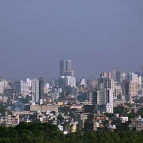 Dhaka is listed (or ranked) 20 on the list The World's Most Densely Populated Places