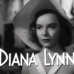 Diana Lynn is listed (or ranked) 22 on the list Famous People Named Diana