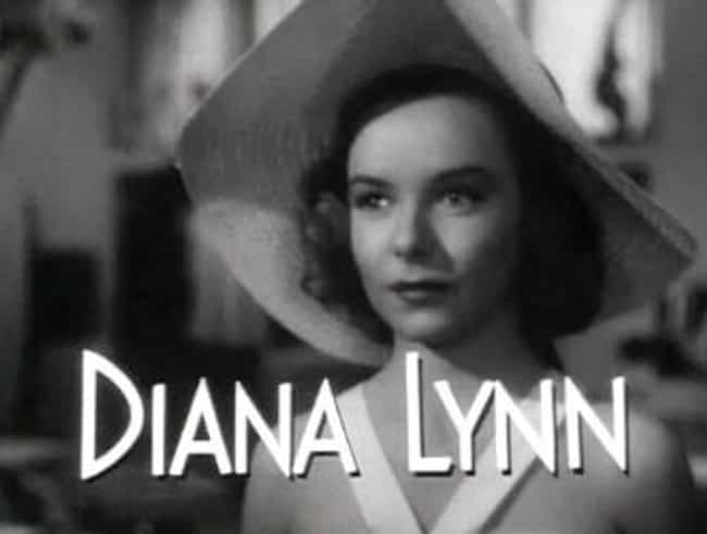 Diana Lynn is listed (or ranked) 4 on the list Women Who James Robert Neal Has Dated