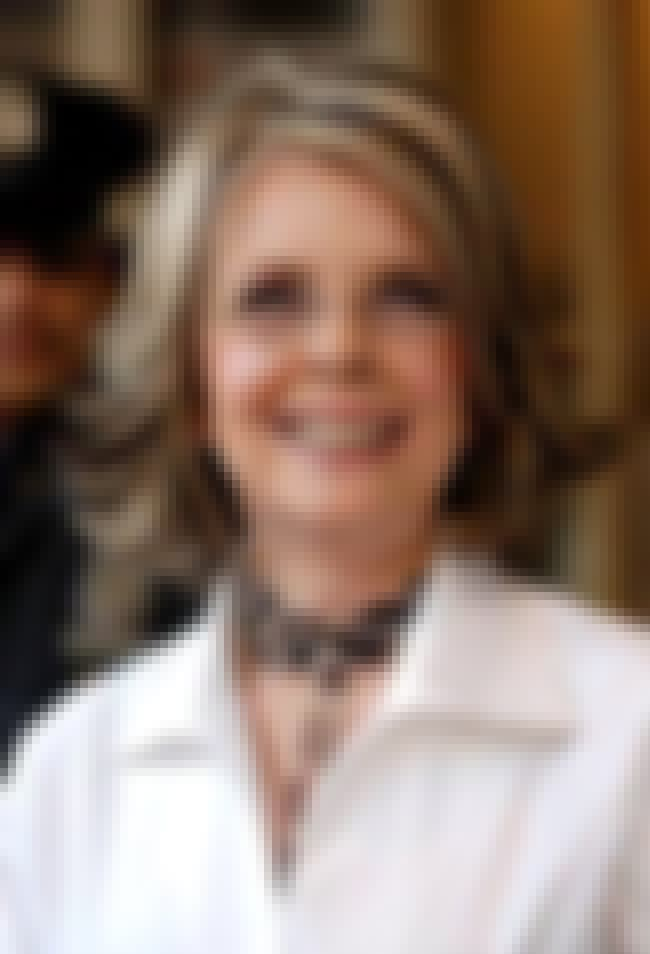 Diane Keaton is listed (or ranked) 37 on the list Stunning Celeb Women Over 60