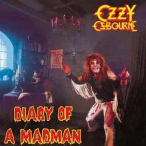 Diary of a Madman is listed (or ranked) 20 on the list The Best Sophomore Albums of All Time