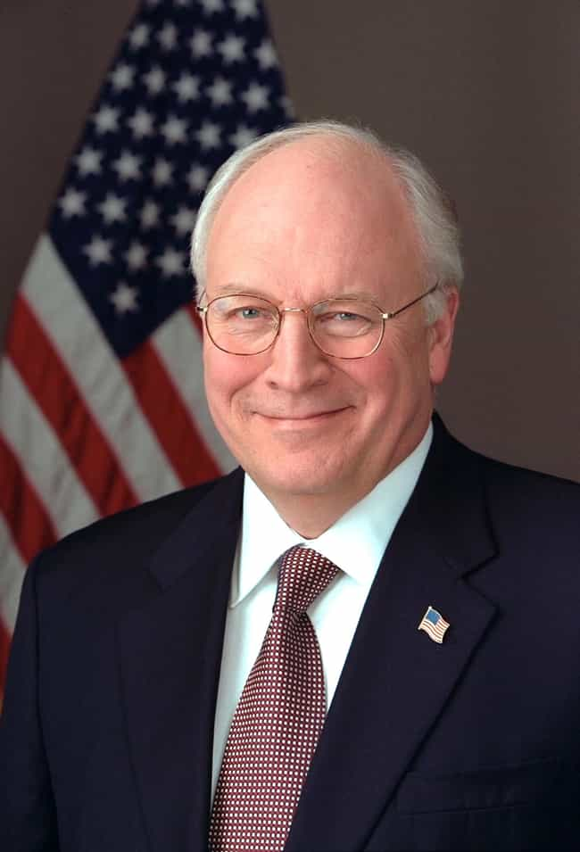 Dick Cheney is listed (or ranked) 3 on the list Famous People Born in 1941