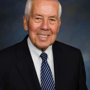 Richard Lugar is listed (or ranked) 10 on the list Famous Denison University Alumni