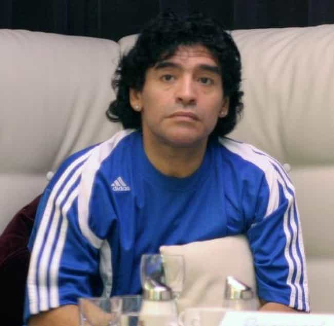 Diego Maradona is listed (or ranked) 8 on the list Athletes Who Were Drug Addicts