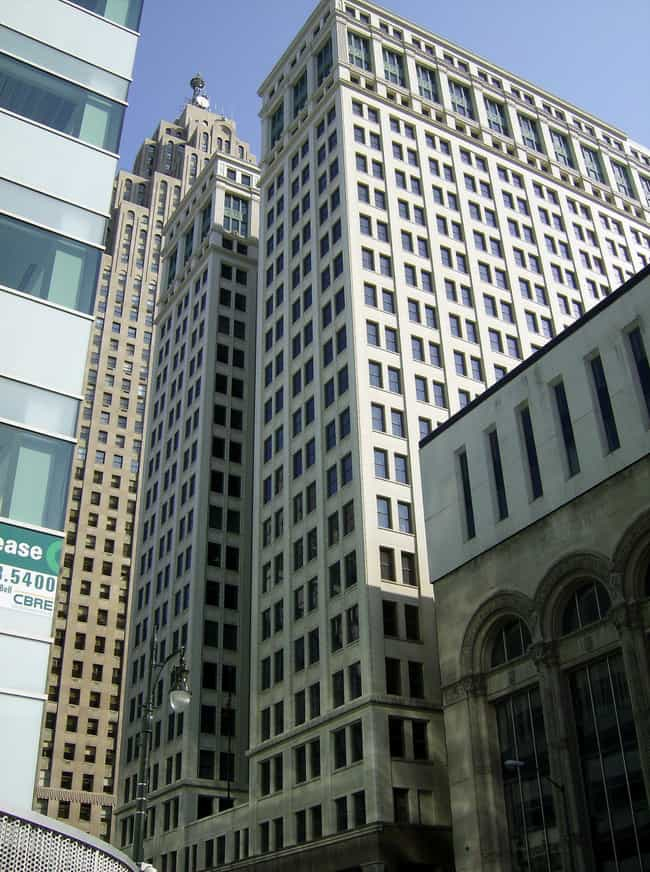 Dime Building is listed (or ranked) 3 on the list List of Daniel Burnham Architecture