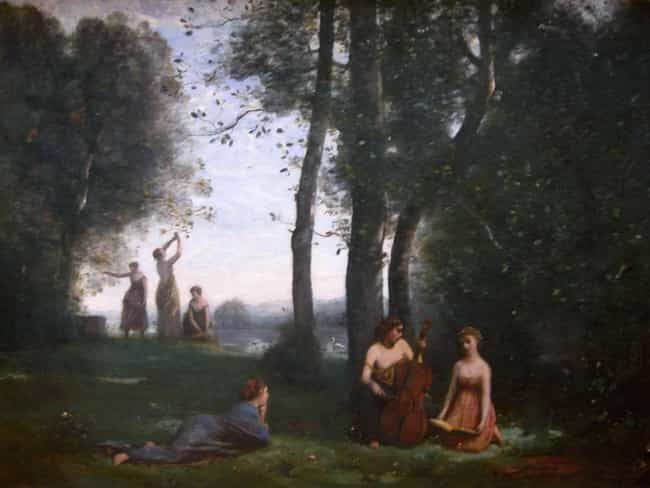 Le concert champêt... is listed (or ranked) 2 on the list Famous Jean-Baptiste Camille Corot Paintings