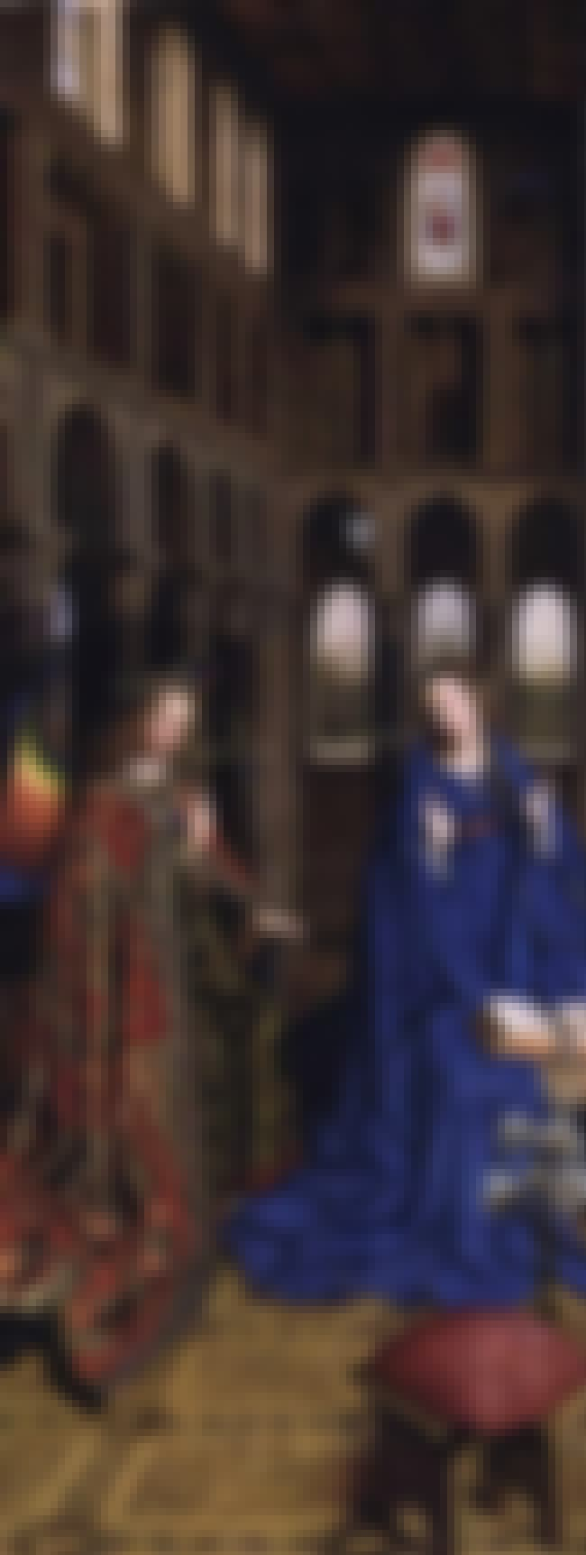 Annunciation is listed (or ranked) 1 on the list List of Famous Jan Van Eyck Artwork