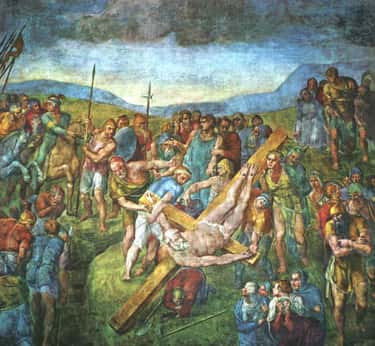 The Crucifixion of St. Peter is listed (or ranked) 1 on the list The Greatest Works Art About Saint Peter