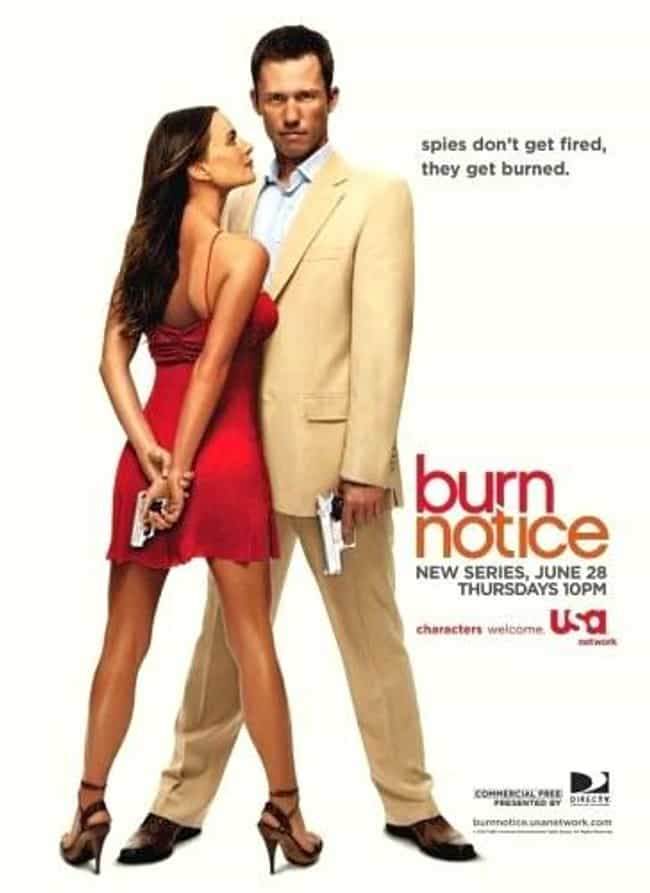 Burn Notice is listed (or ranked) 4 on the list What to Watch If You Love 'The Blacklist'