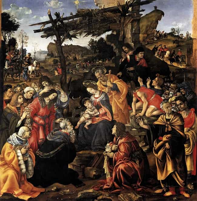 Adoration of the Magi is listed (or ranked) 3 on the list Famous Adoration of the Magi in Art Art