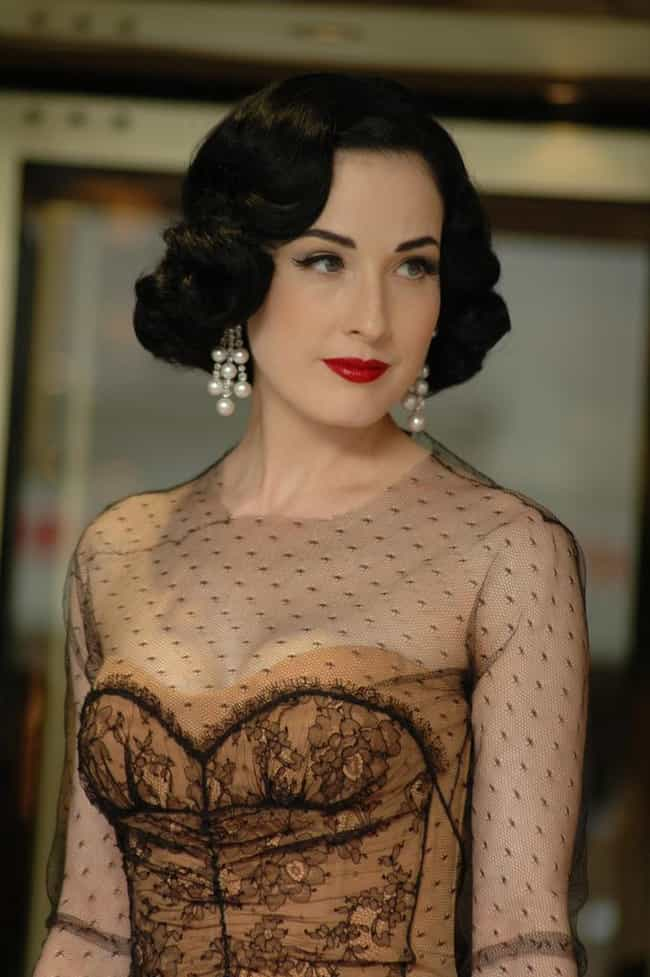 Dita Von Teese is listed (or ranked) 2 on the list Famous Friends of David Beckham