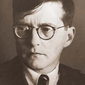 Dmitri Shostakovich is listed (or ranked) 17 on the list Famous Actors from Russia