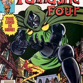 Doctor Doom is listed (or ranked) 1 on the list List of Fantastic Four Characters