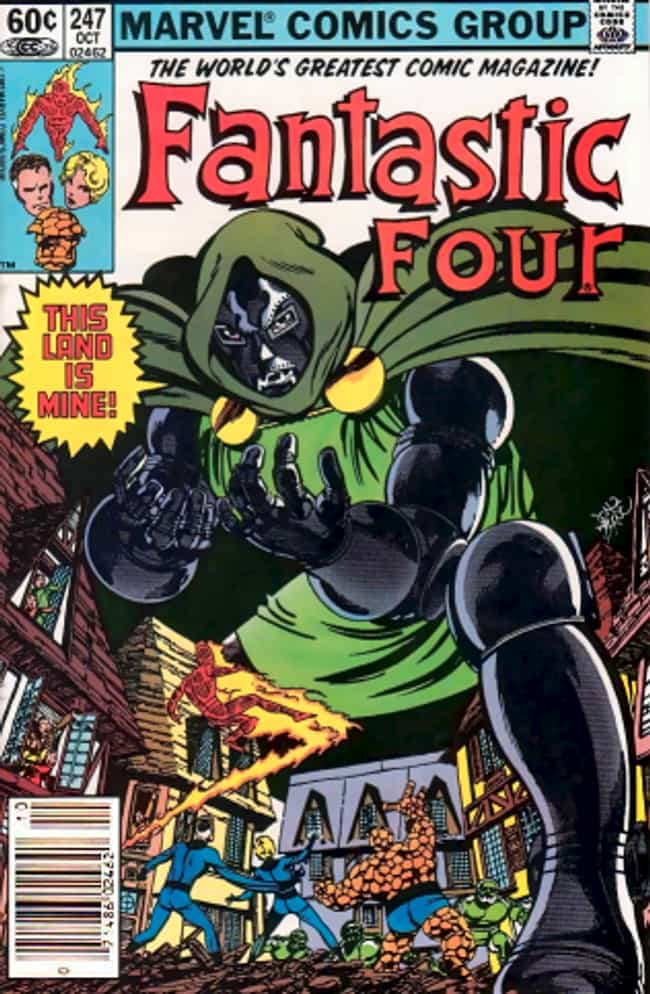 Doctor Doom is listed (or ranked) 3 on the list 15 Classic Examples of Chaotic Evil Characters