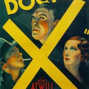 Doctor X is listed (or ranked) 8 on the list The Best '30s Thriller Movies