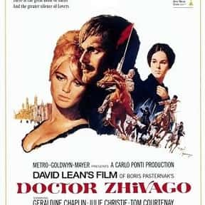 Doctor Zhivago is listed (or ranked) 7 on the list AFI's Top 100 Love Story Movies