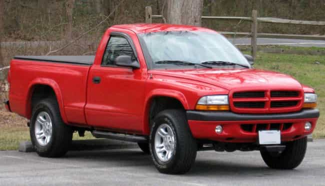 dodge dakota is listed or ranked 4 on the list full list of dodge