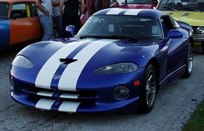Srt Viper Is Listed Or Ranked 5 On The List Full Of Dodge