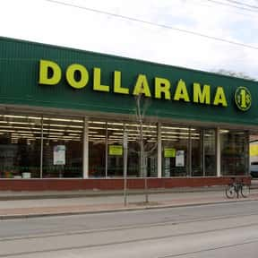 Dollarama is listed (or ranked) 8 on the list List of Variety Stores Companies
