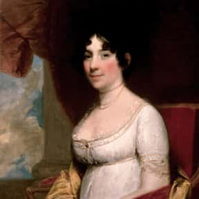 Dolley Madison is listed (or ranked) 5 on the list The Most Loved American First Ladies