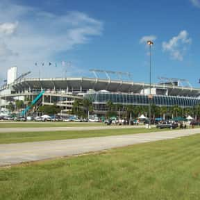 Hard Rock Stadium is listed (or ranked) 19 on the list The Best NFL Stadiums