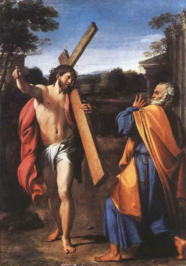 Domine quo vadis? is listed (or ranked) 4 on the list Famous Annibale Carracci Paintings
