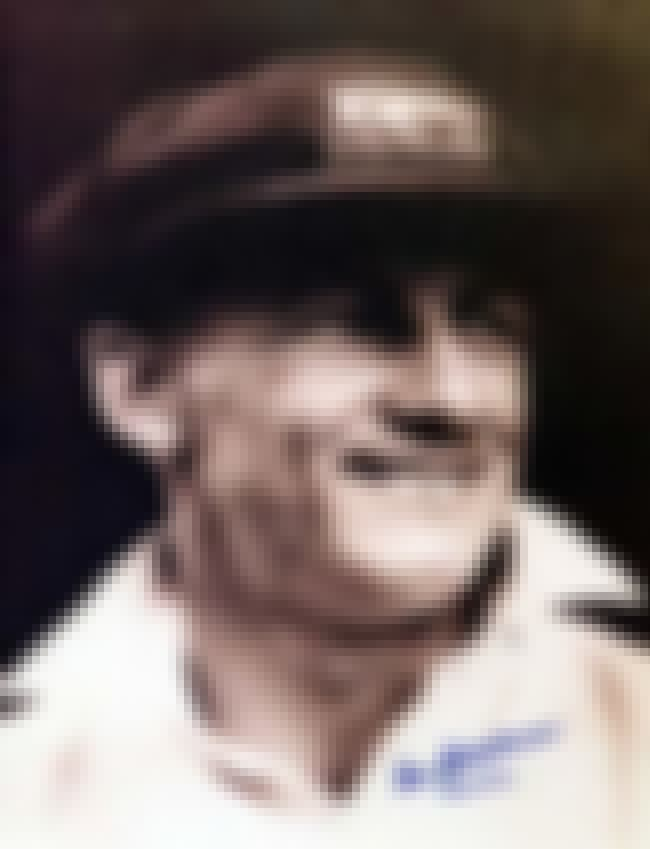 Donald Bradman is listed (or ranked) 7 on the list Famous Male Cricketers