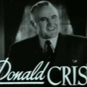 Donald Crisp is listed (or ranked) 14 on the list All Academy Award for Best Supporting Actor Winners