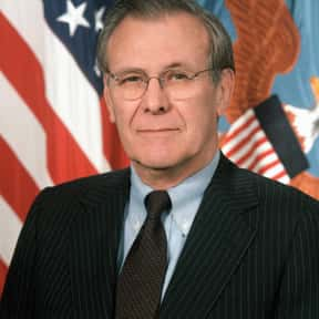 Donald Rumsfeld is listed (or ranked) 10 on the list Famous People Named Donald or Don