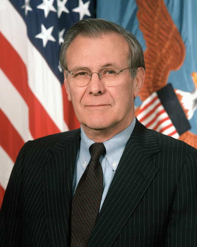 Donald Rumsfeld is listed (or ranked) 3 on the list Famous People Born in 1932