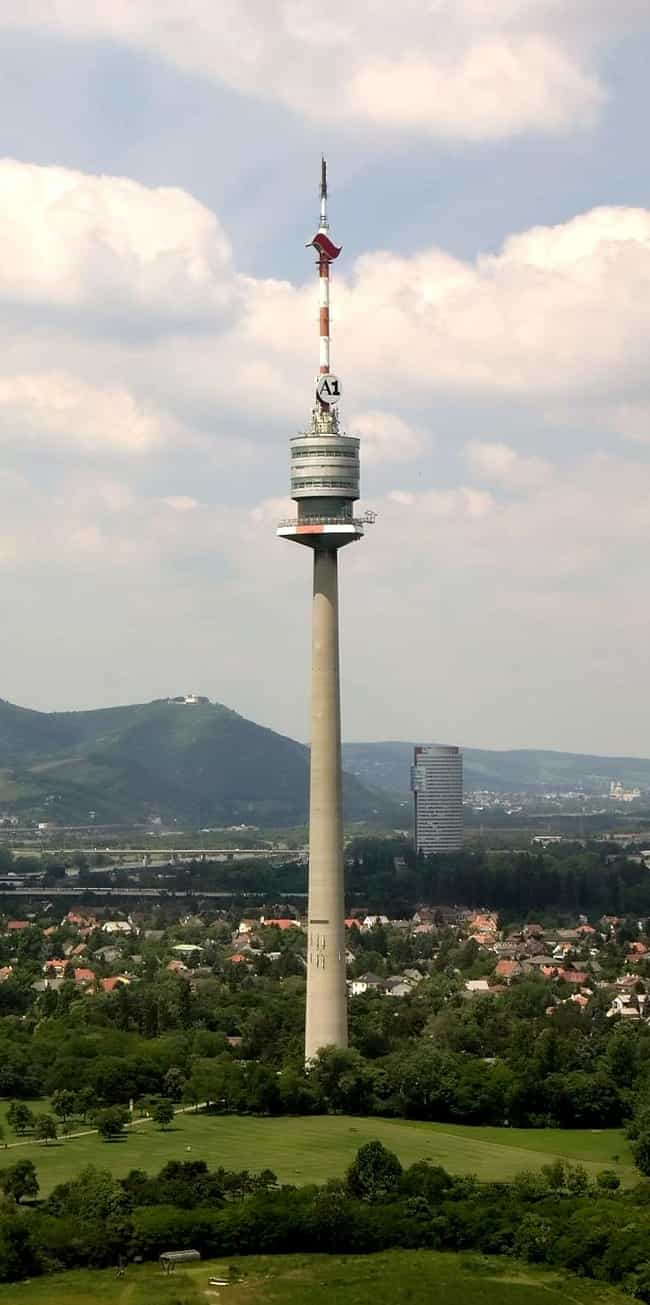Donauturm is listed (or ranked) 3 on the list List of Famous Vienna Buildings & Structures