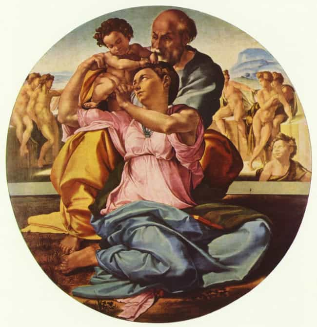 Doni Tondo is listed (or ranked) 3 on the list Famous Michelangelo Paintings