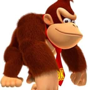 Donkey Kong is listed (or ranked) 3 on the list The Best NES Characters