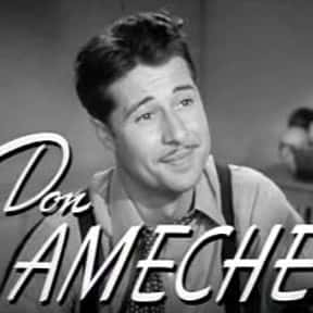 Don Ameche is listed (or ranked) 20 on the list Popular Film Actors from Italy