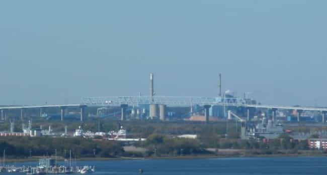 Don N. Holt Bridge is listed (or ranked) 3 on the list Bridges in South Carolina