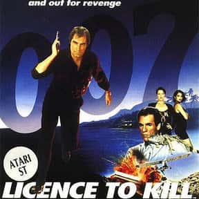 Licence to Kill is listed (or ranked) 13 on the list The Best James Bond Games