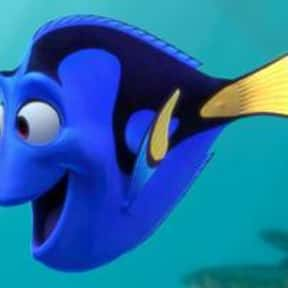 Dory is listed (or ranked) 18 on the list The Greatest Female Characters in Film History