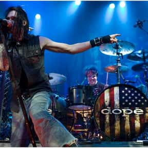 Dope is listed (or ranked) 2 on the list The Best Bands Like Disturbed