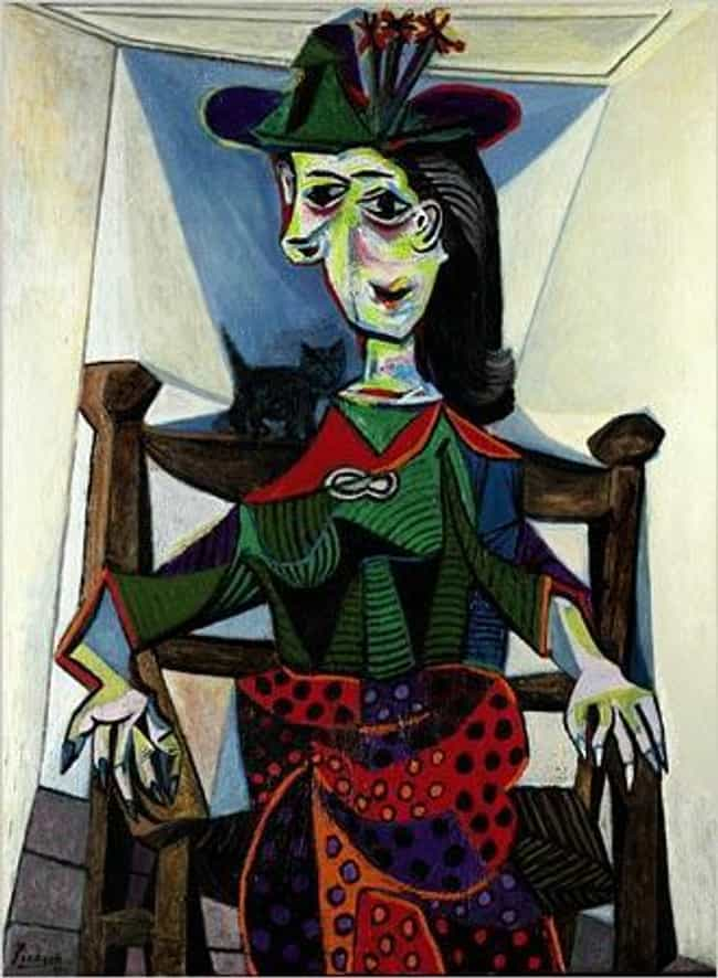 Dora Maar au Chat is listed (or ranked) 3 on the list Famous Cubism Artwork
