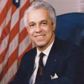 Douglas Wilder is listed (or ranked) 19 on the list Famous Howard University Alumni