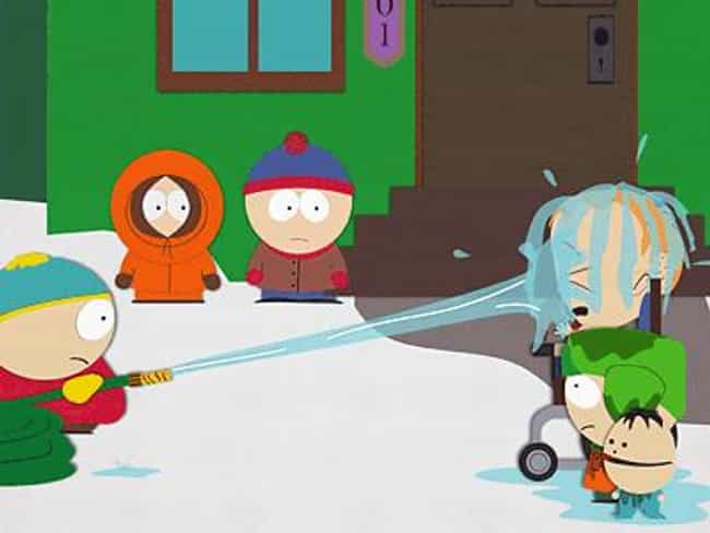 Do the Handicapped Go to Hell? is listed (or ranked) 8 on the list All South Park Religion Episodes, Ranked